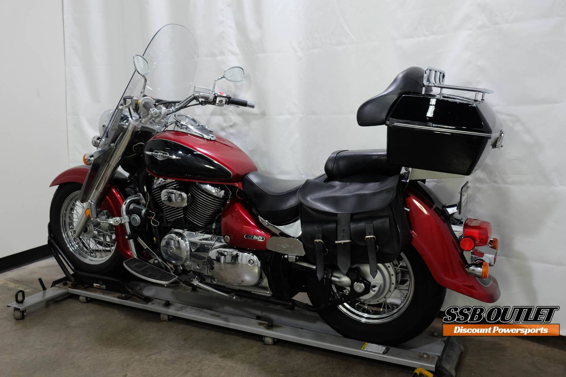 2007 Suzuki Boulevard C50 in Eden Prairie, Minnesota - Photo 5
