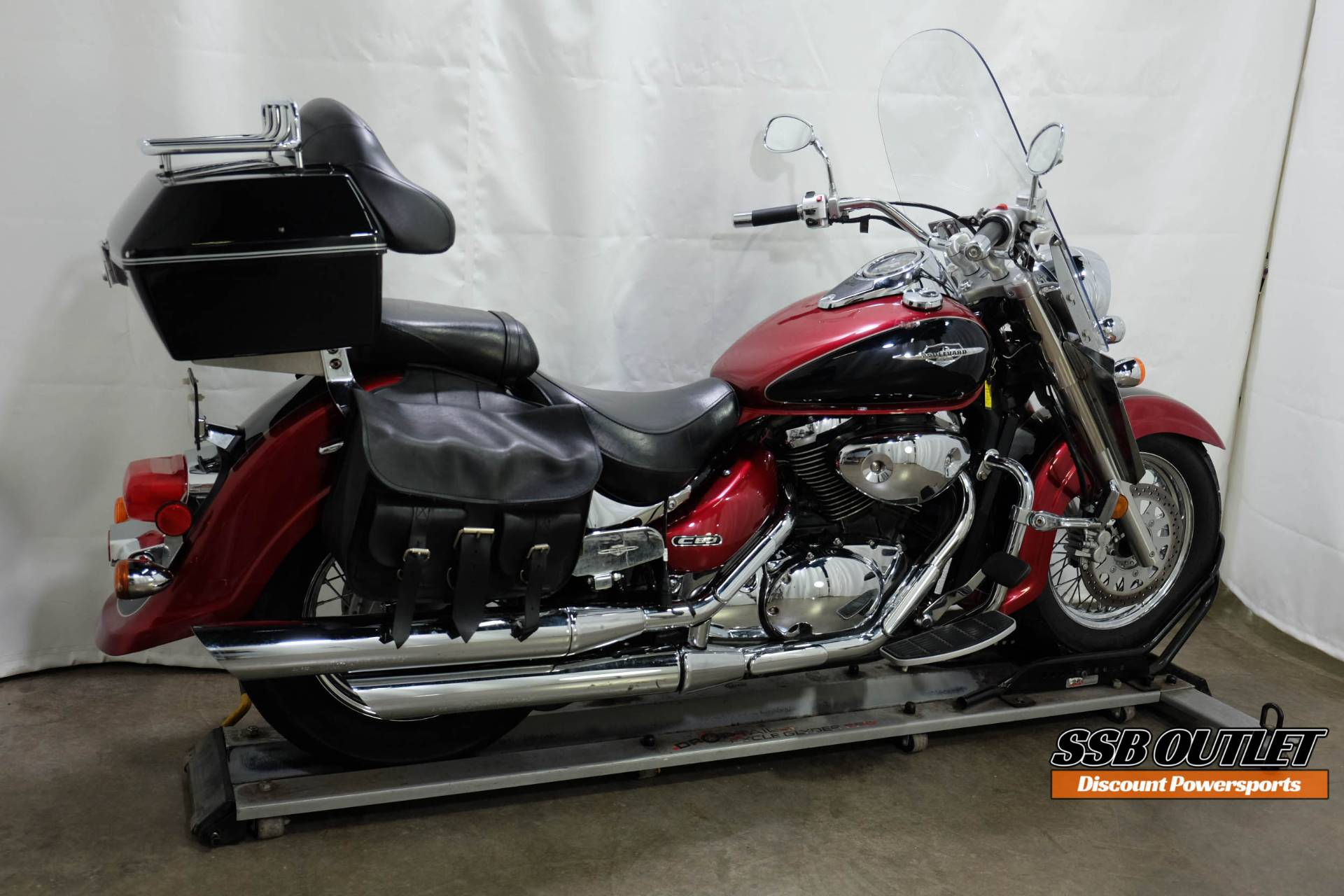 2007 Suzuki Boulevard C50 in Eden Prairie, Minnesota - Photo 6