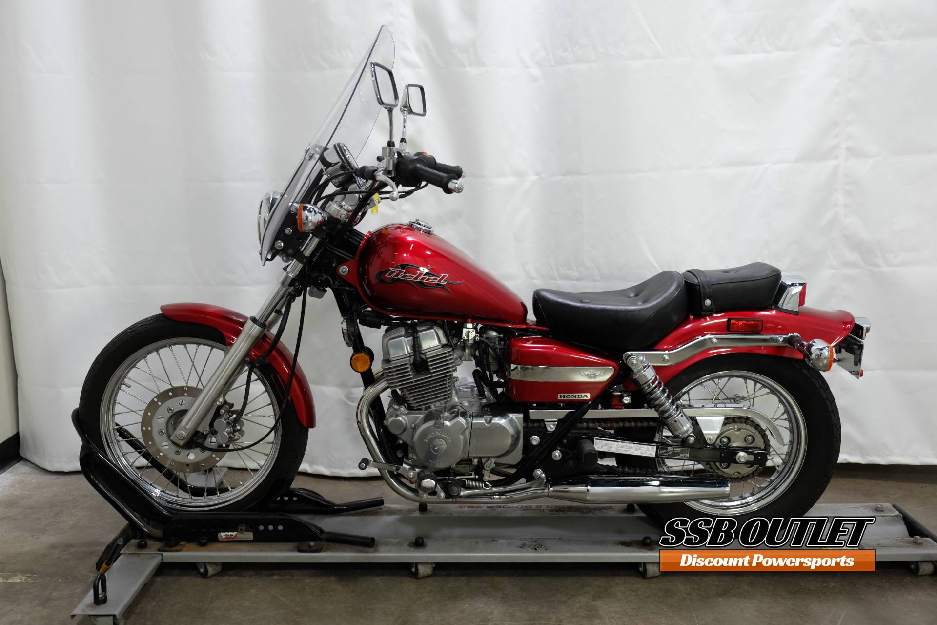 2007 Honda Rebel® in Eden Prairie, Minnesota - Photo 4