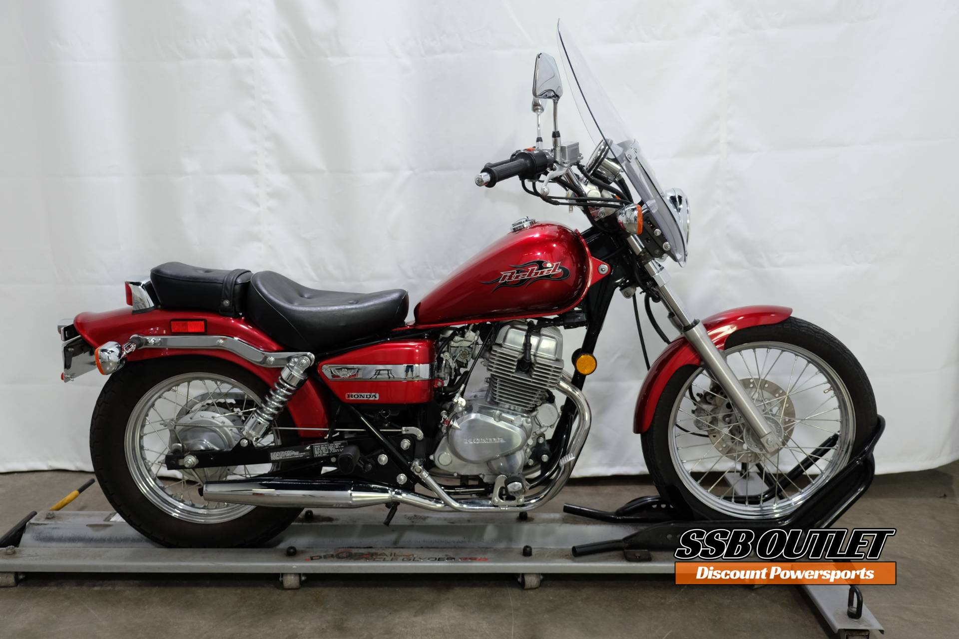 2007 Honda Rebel® in Eden Prairie, Minnesota - Photo 1