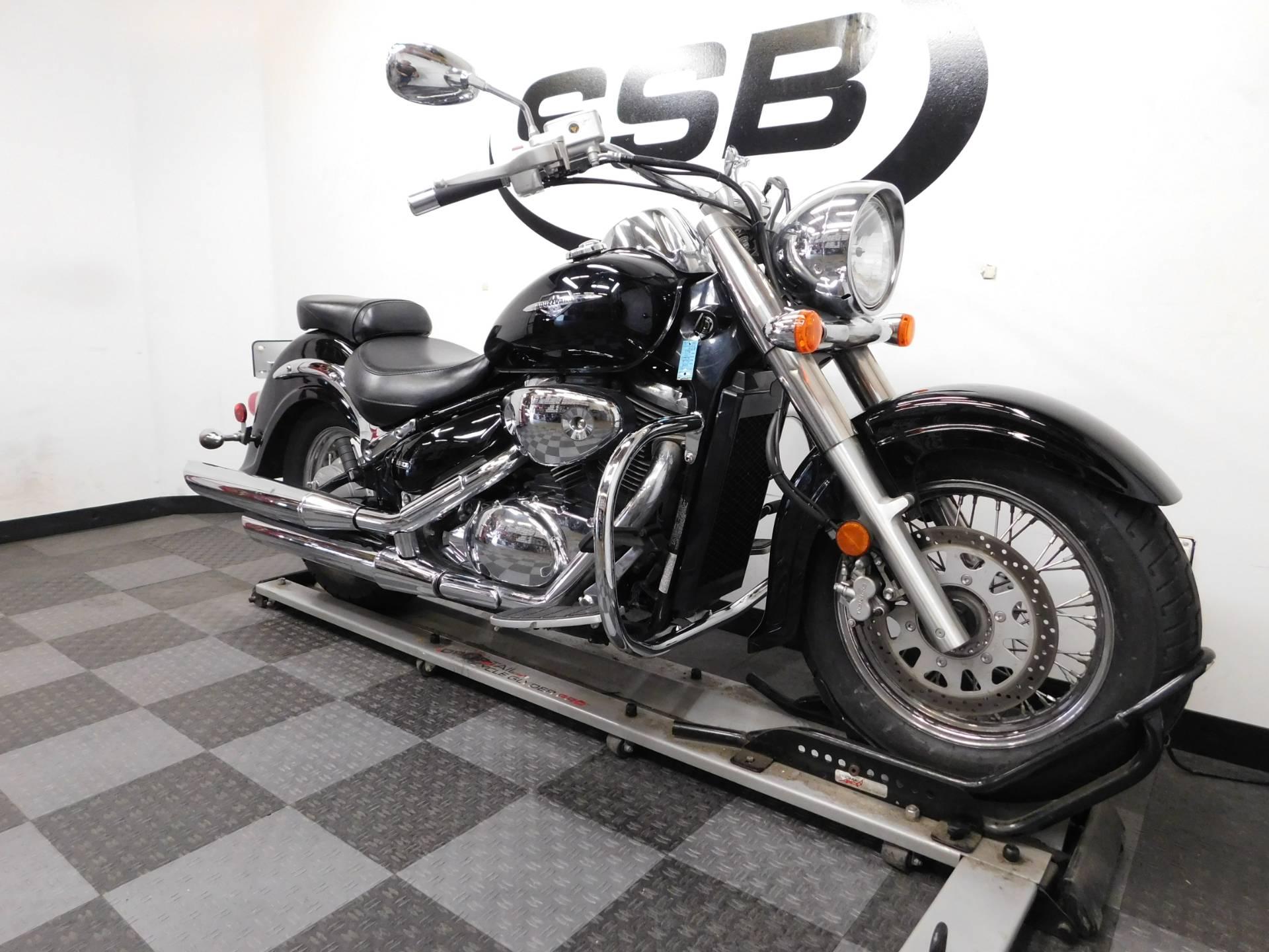 Used 2008 Suzuki Boulevard C50 Black Motorcycles in Eden Prairie, MN ...