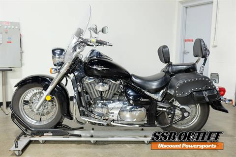 2005 Suzuki Boulevard C50 Black in Eden Prairie, Minnesota - Photo 4