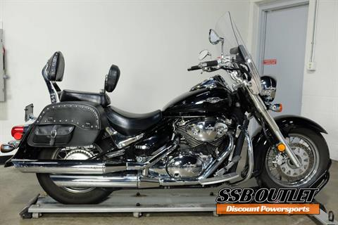 2005 Suzuki Boulevard C50 Black in Eden Prairie, Minnesota - Photo 1
