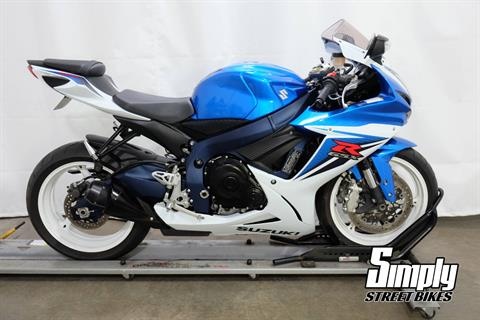 2011 Suzuki GSX-R600™ in Eden Prairie, Minnesota - Photo 1