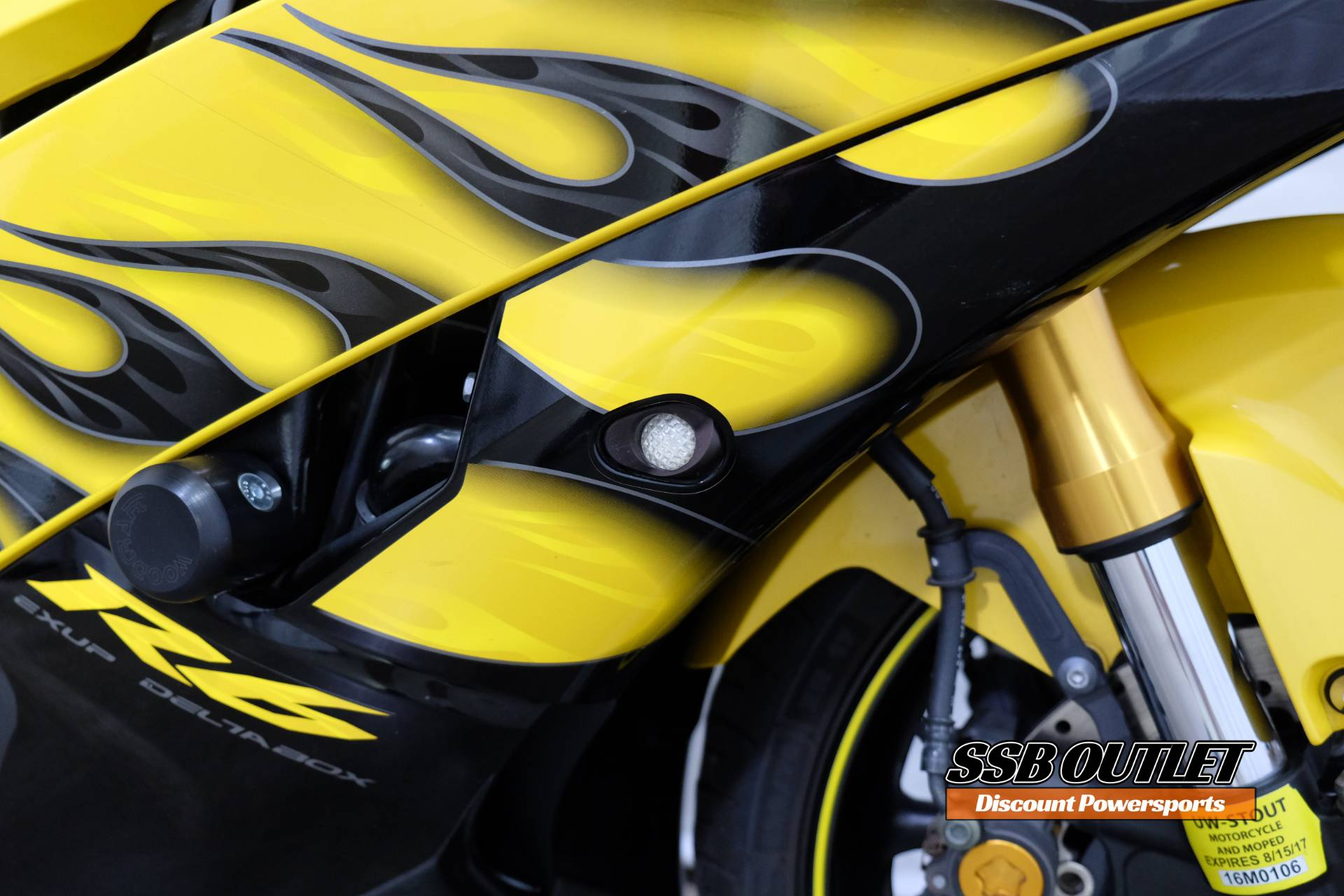 2008 Yamaha YZF-R6 11