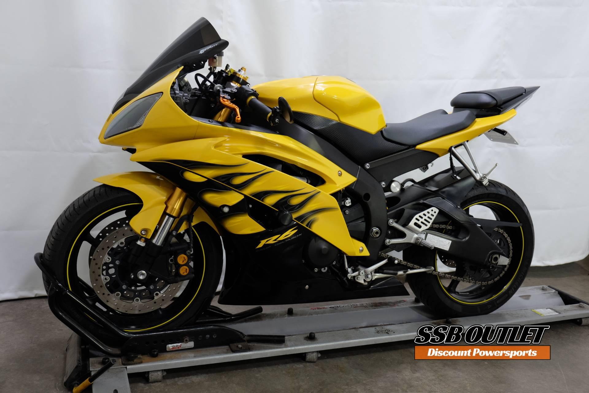 2008 Yamaha YZF-R6 3