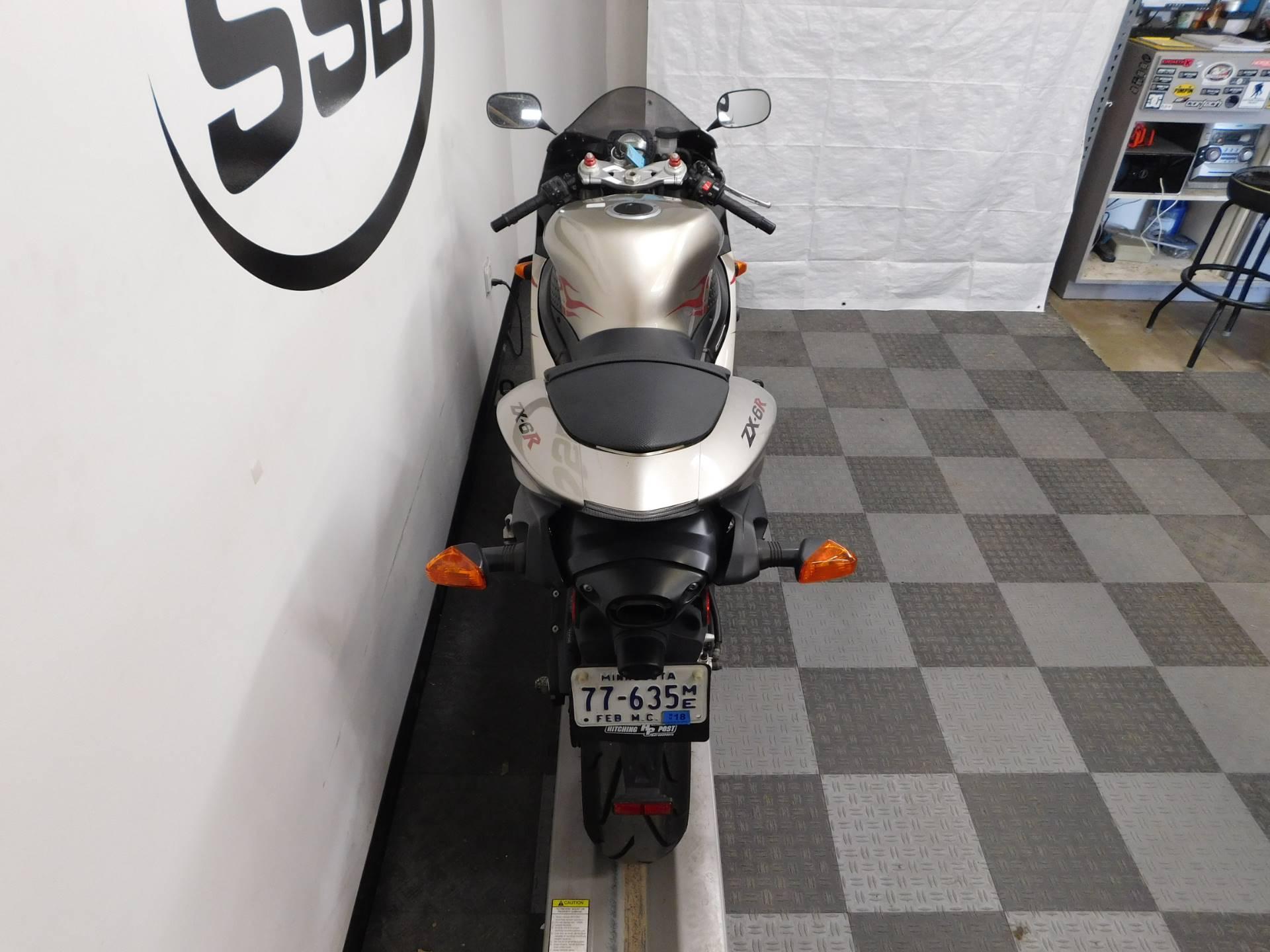2006 Kawasaki ZX6R 7