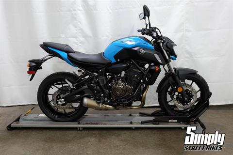 2019 Yamaha MT-07 in Eden Prairie, Minnesota - Photo 1