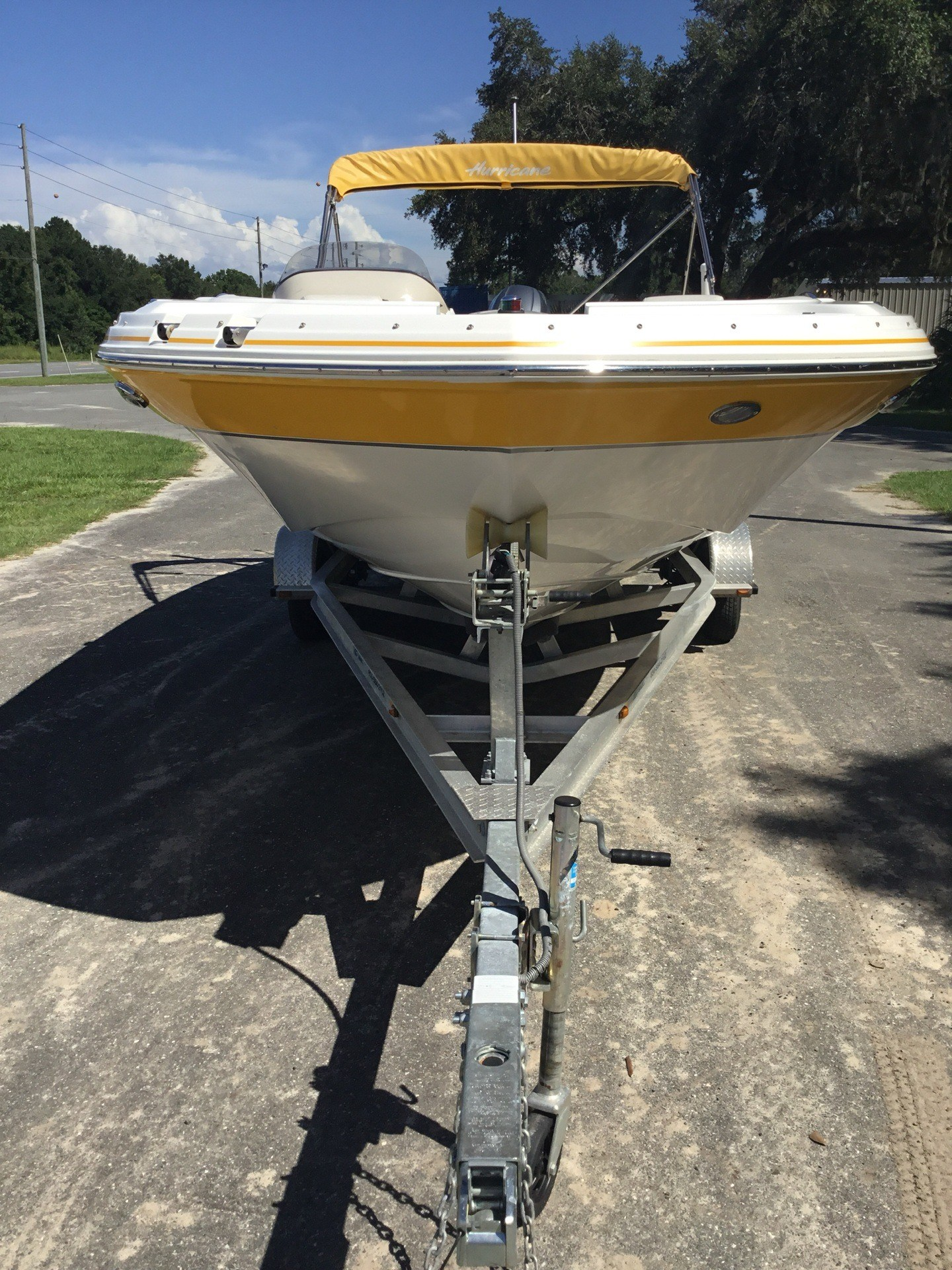 2013 Hurricane SunDeck Sport 203 OB in Perry, Florida