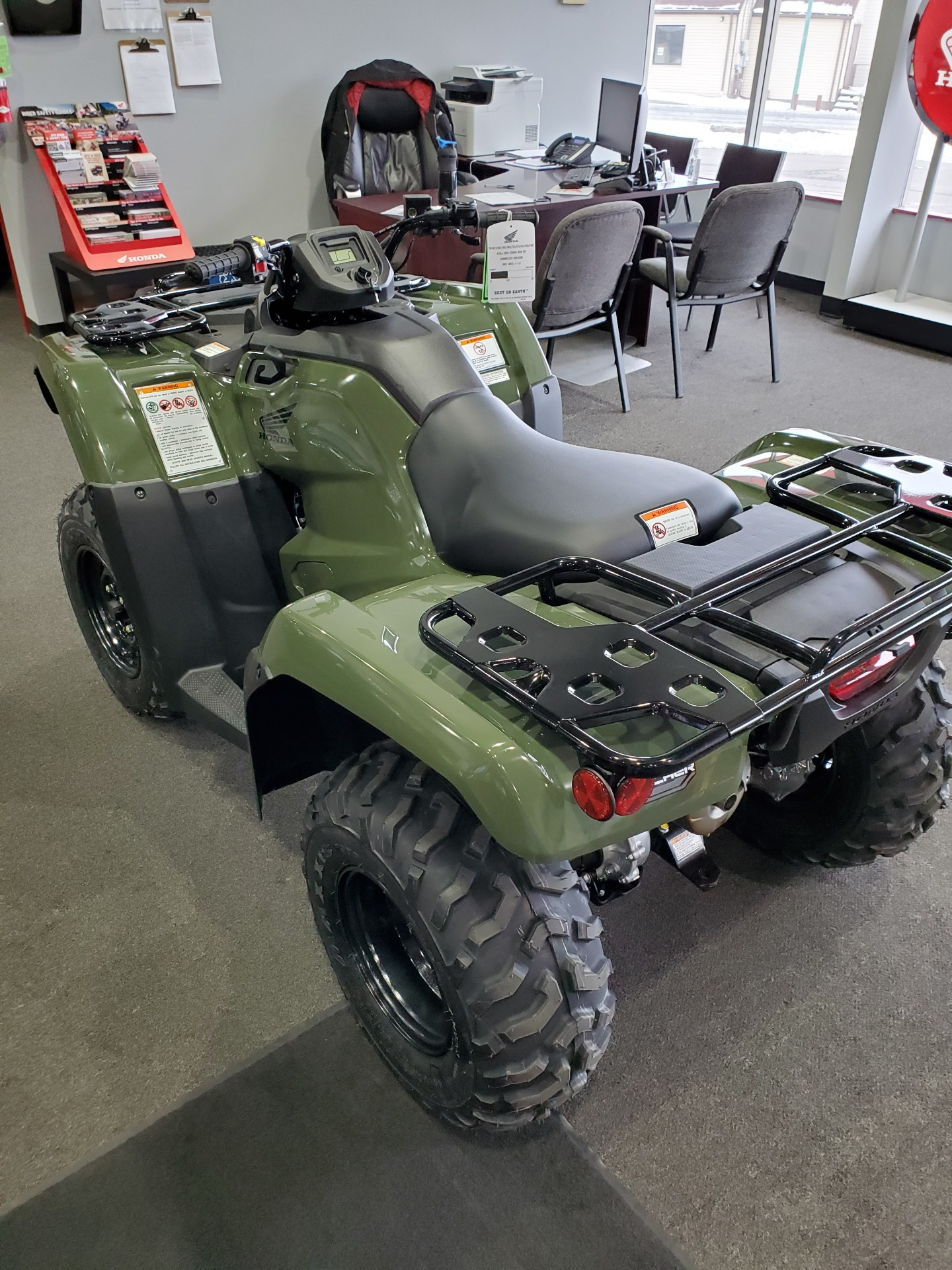 2021 Honda FourTrax Rancher 4x4 in Moon Township, Pennsylvania - Photo 3