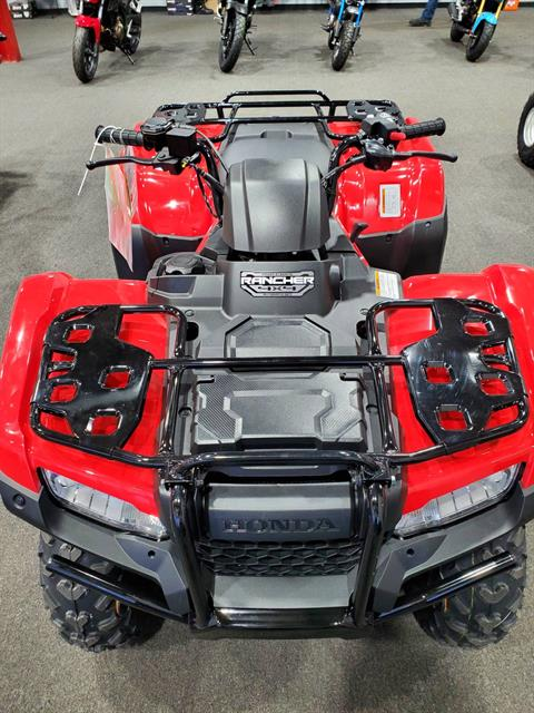 2021 Honda FourTrax Rancher 4x4 Automatic DCT EPS in Moon Township, Pennsylvania - Photo 3