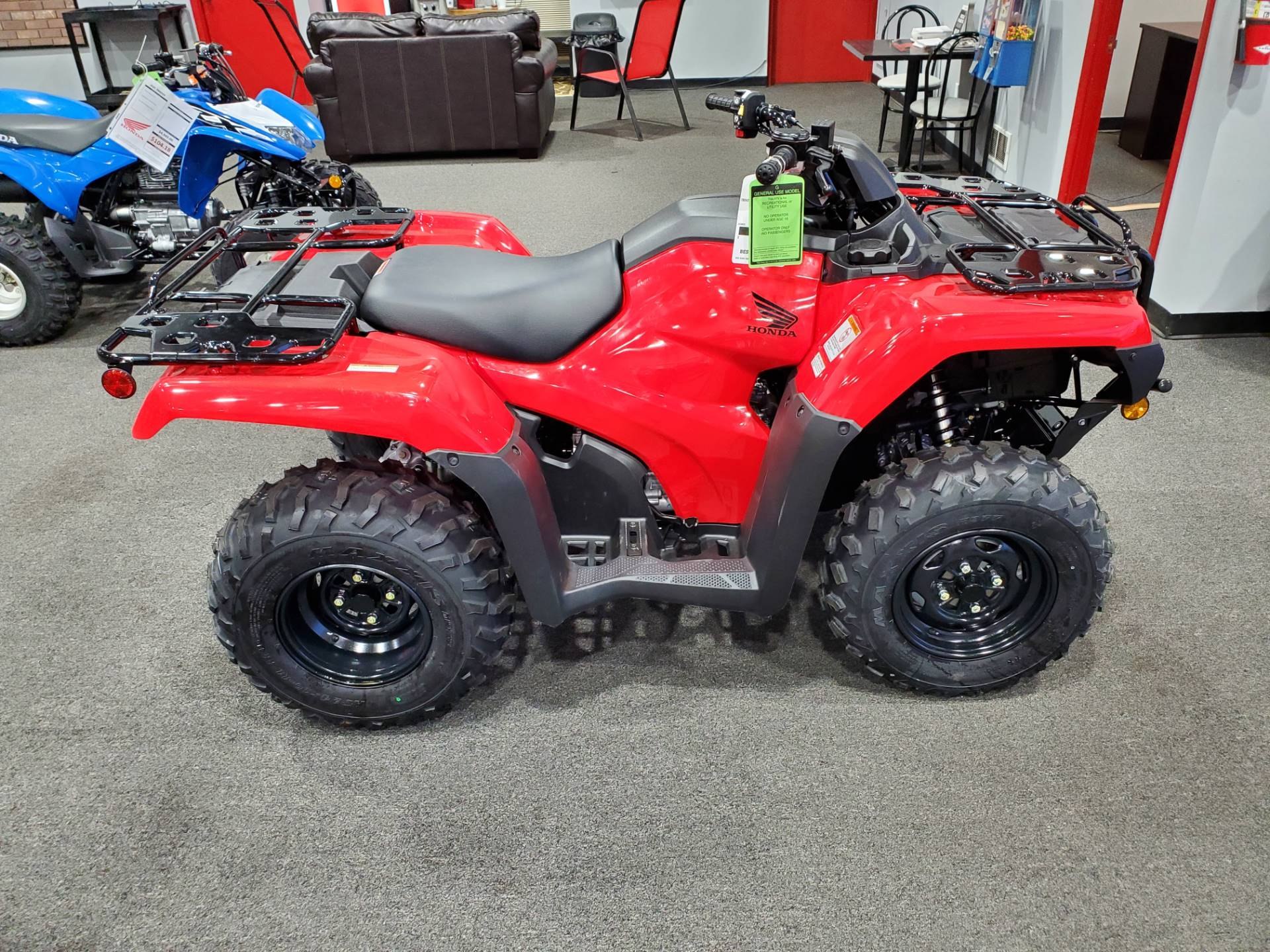 2021 Honda FourTrax Rancher 4x4 Automatic DCT EPS in Moon Township, Pennsylvania - Photo 1