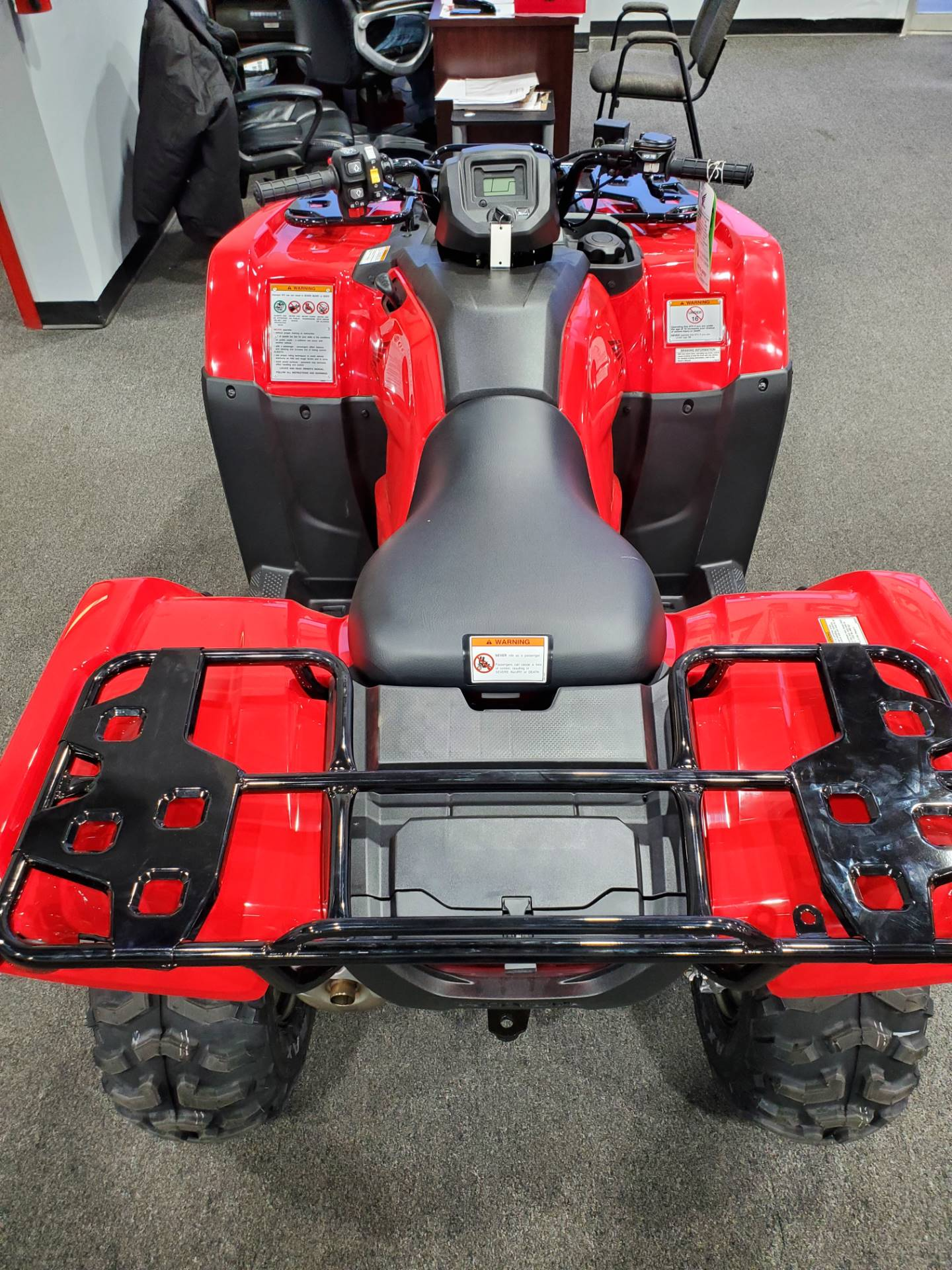 2021 Honda FourTrax Rancher 4x4 Automatic DCT EPS in Moon Township, Pennsylvania - Photo 6