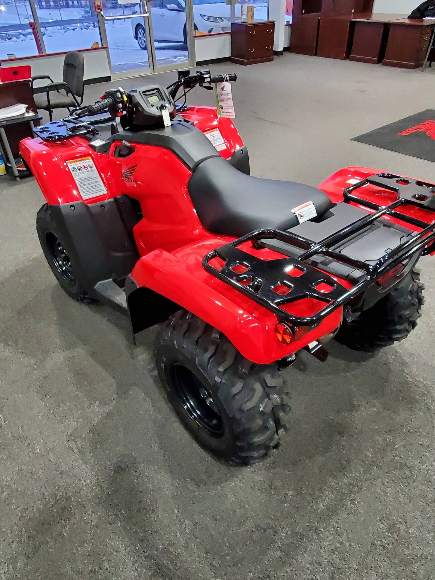 2021 Honda FourTrax Rancher 4x4 Automatic DCT EPS in Moon Township, Pennsylvania - Photo 8