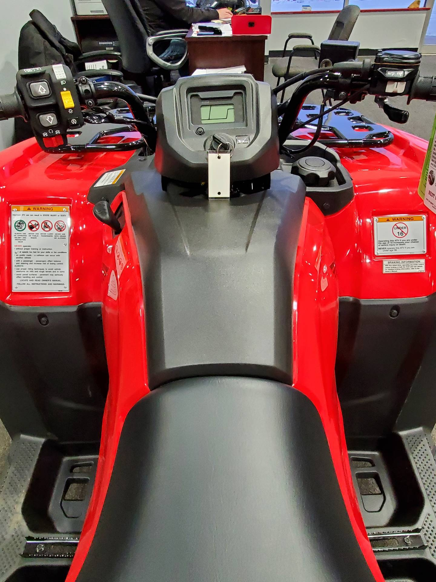 2021 Honda FourTrax Rancher 4x4 Automatic DCT EPS in Moon Township, Pennsylvania - Photo 9