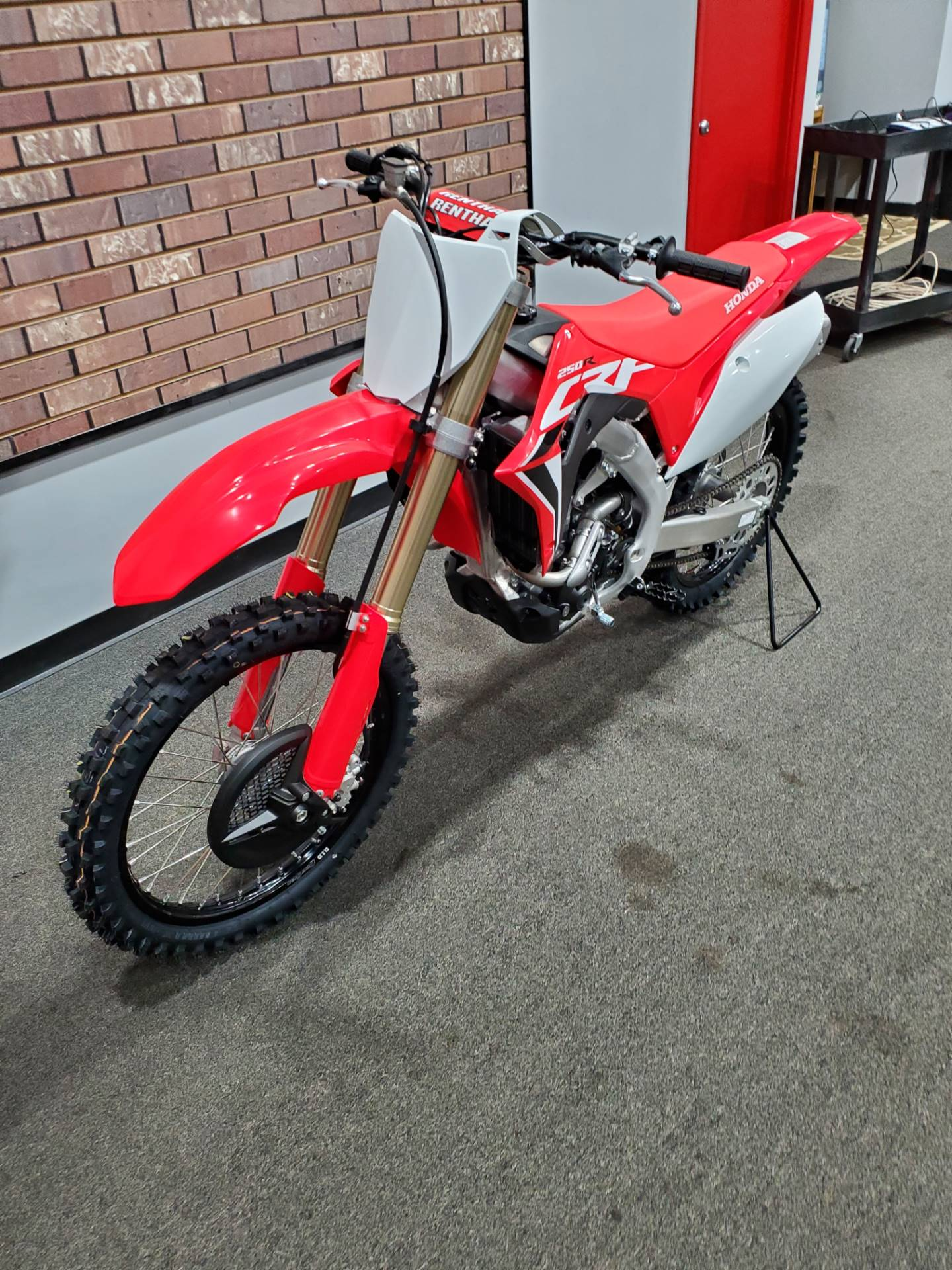 2021 Honda CRF250R in Moon Township, Pennsylvania - Photo 9