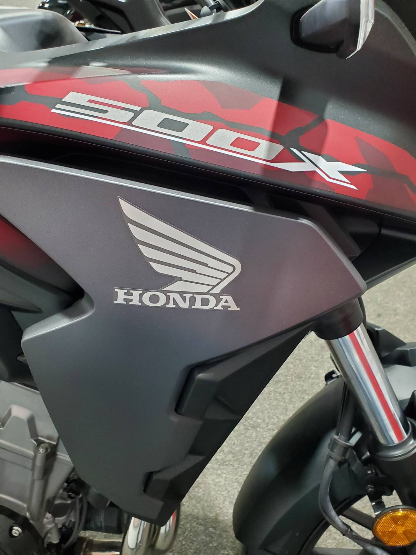 2021 Honda CB500X ABS in Moon Township, Pennsylvania - Photo 6