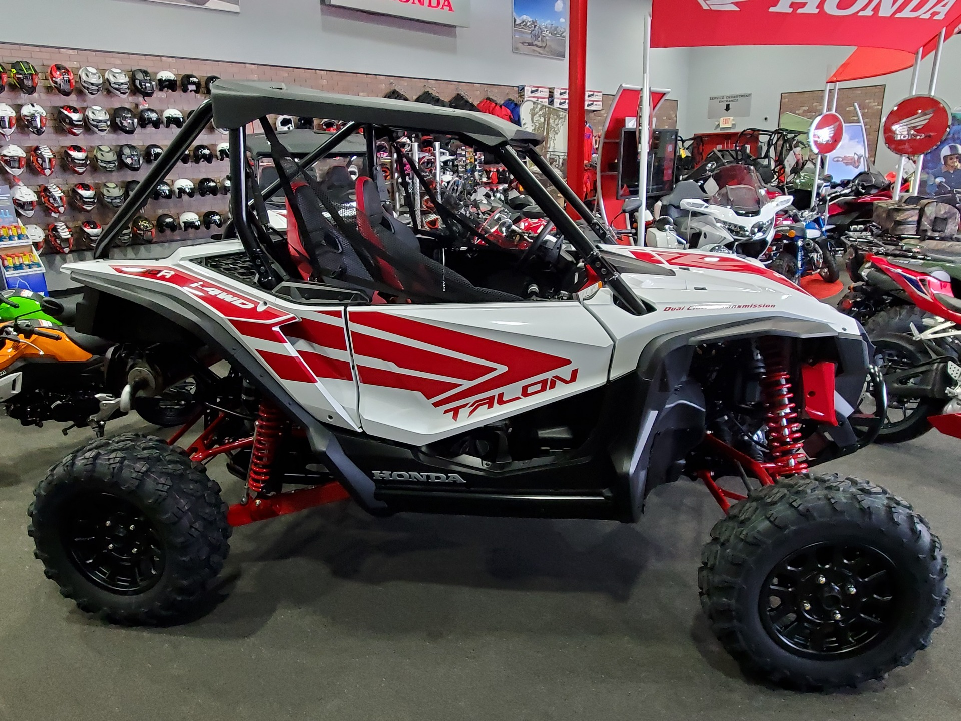 2021 Honda Talon 1000R in Moon Township, Pennsylvania - Photo 1