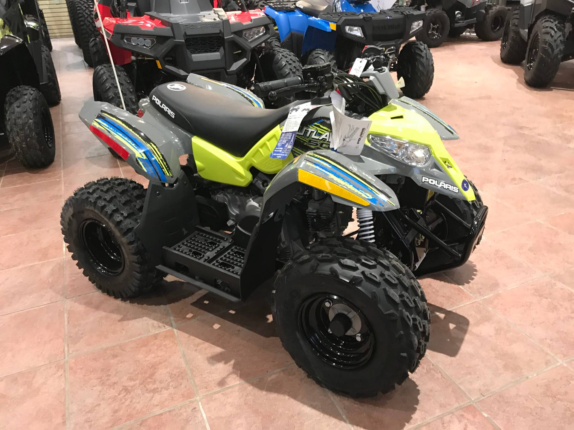 2019 Polaris Outlaw 50 in Chicora, Pennsylvania - Photo 1