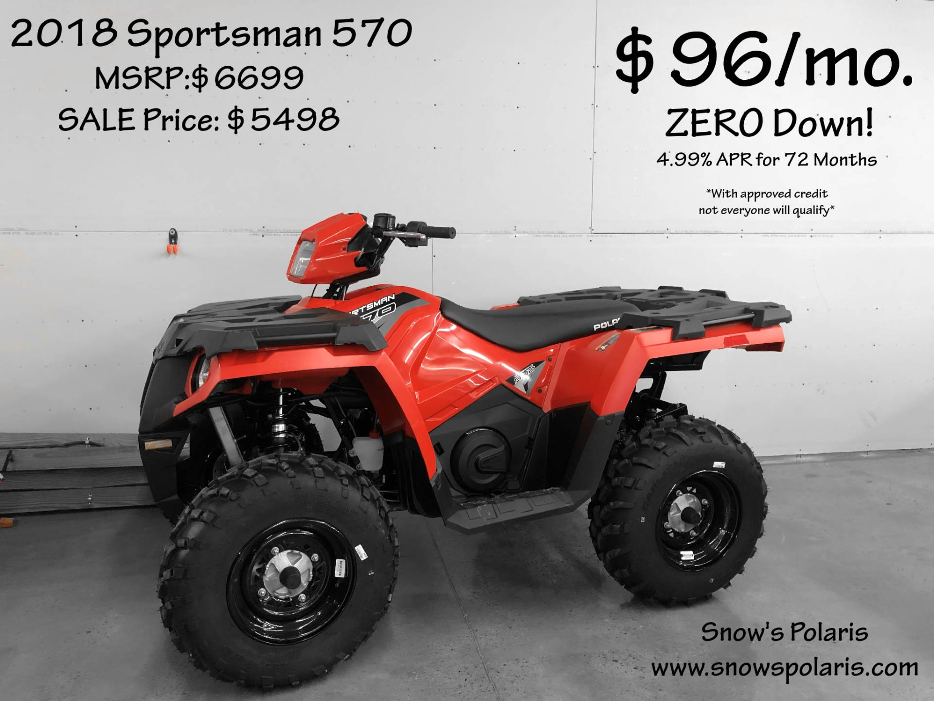 2018 Polaris Sportsman 570 in Chicora, Pennsylvania