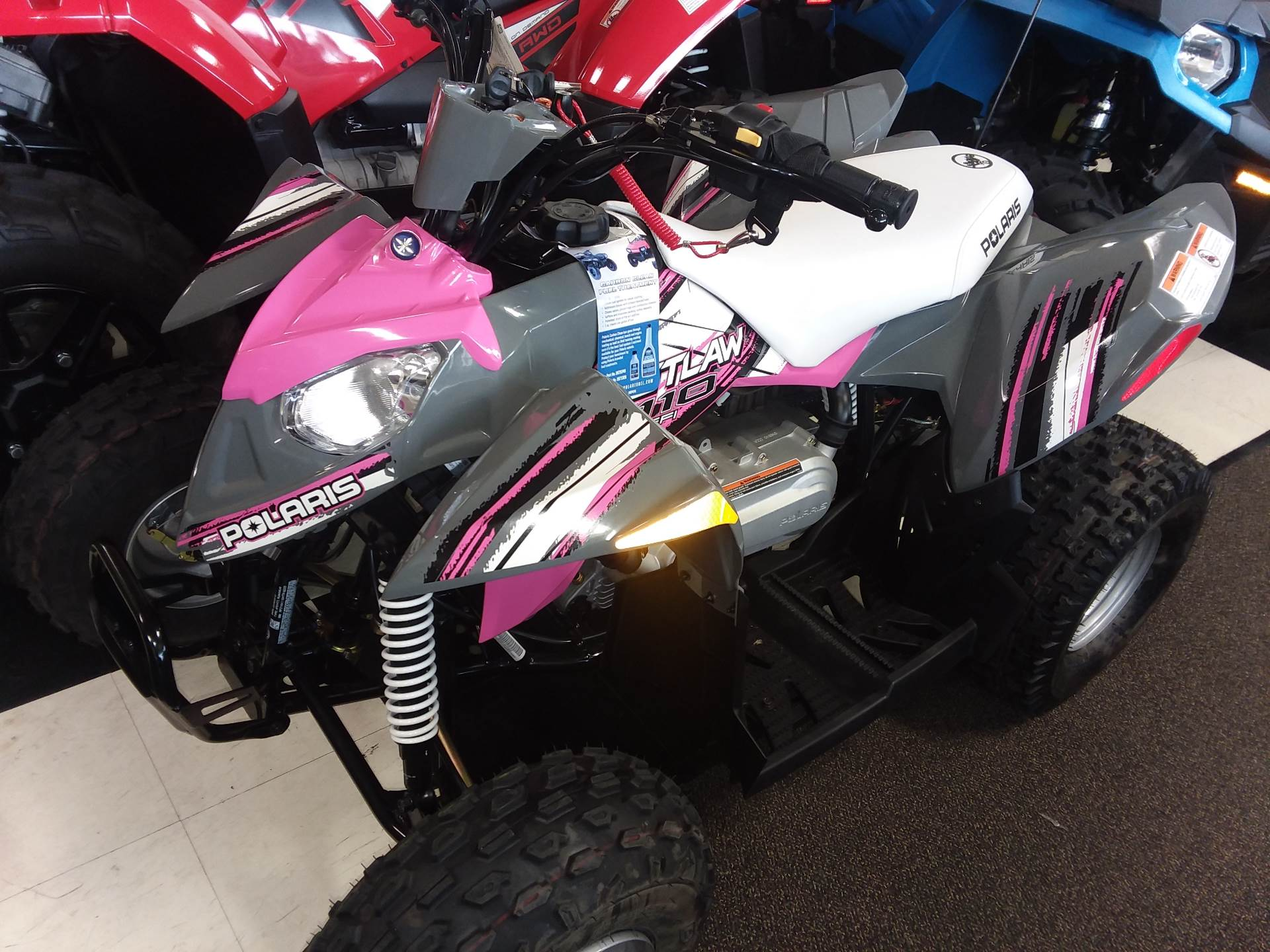2017 Polaris Outlaw 110 in Beaver Falls, Pennsylvania