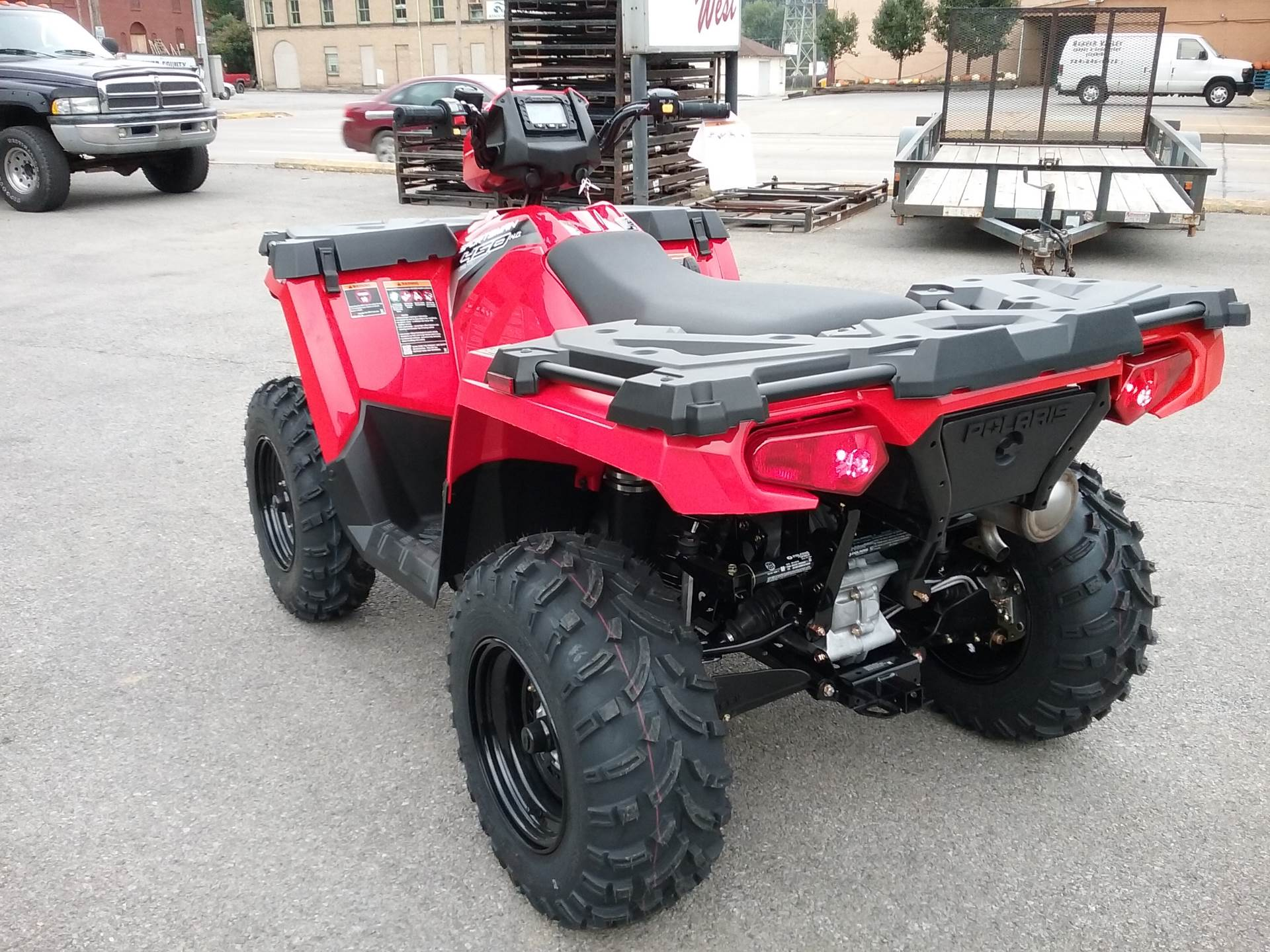 2019 Polaris Sportsman 450 H.O. EPS in Beaver Falls, Pennsylvania
