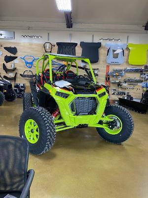 2021 Polaris RZR Turbo S Lifted Lime LE in Coraopolis, Pennsylvania