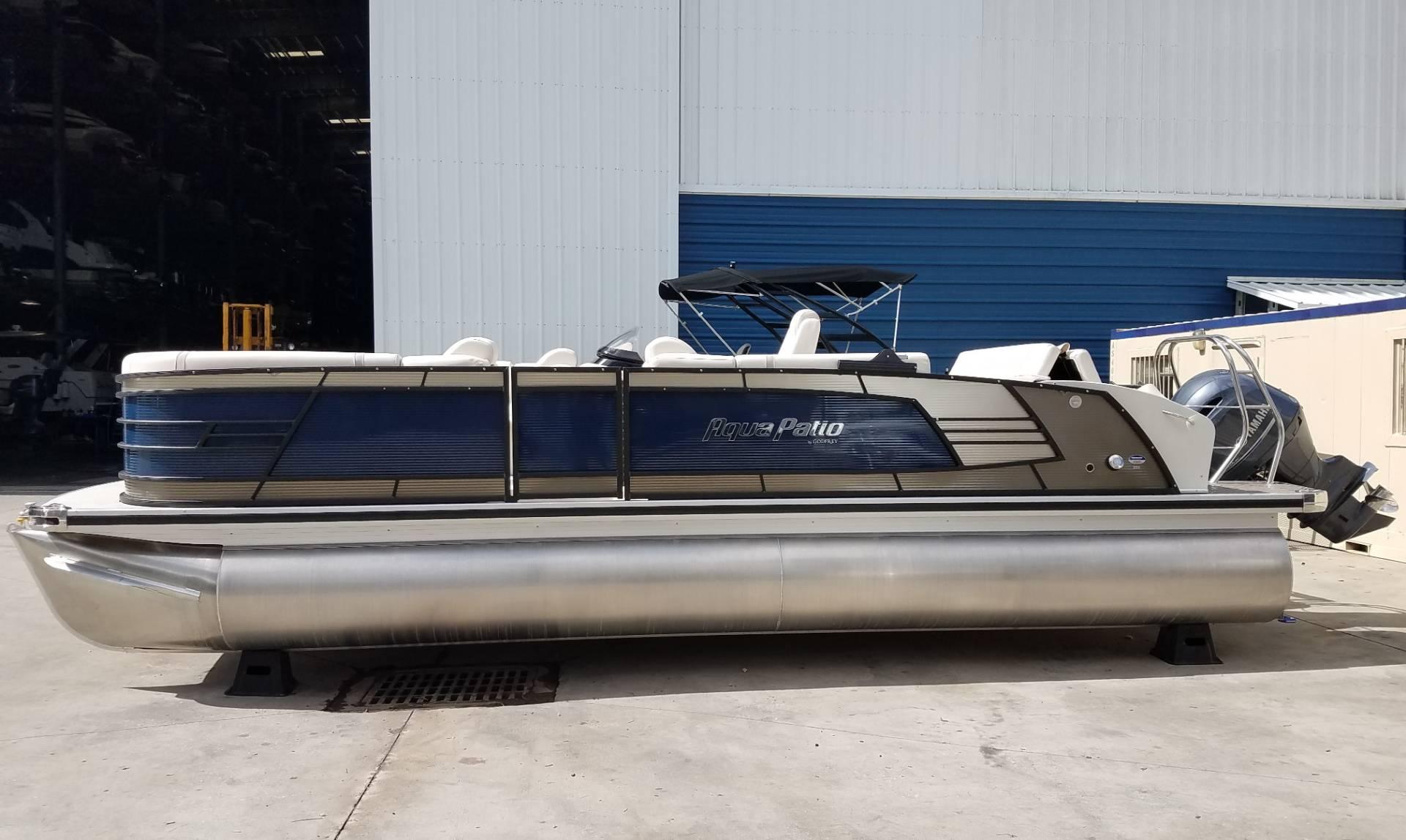 2017 Aqua Patio 255 EL Power Boats Outboard Niceville Florida N