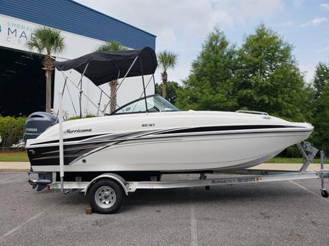 2019 Hurricane SunDeck 187 OB in Niceville, Florida