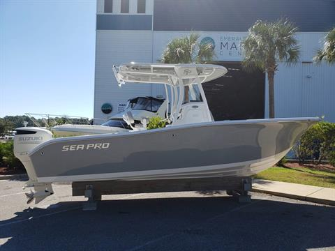 2019 Sea Pro 239 CC in Niceville, Florida
