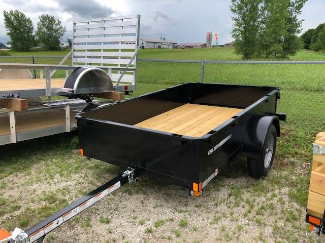 2020 Chilton 5 X 8 Utility with Metal Sides in Francis Creek, Wisconsin - Photo 1