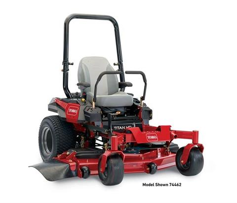 2017 Toro 60 in. (152 cm) Titan HD 2000 Series Zero Turn Mower (74462) in Francis Creek, Wisconsin