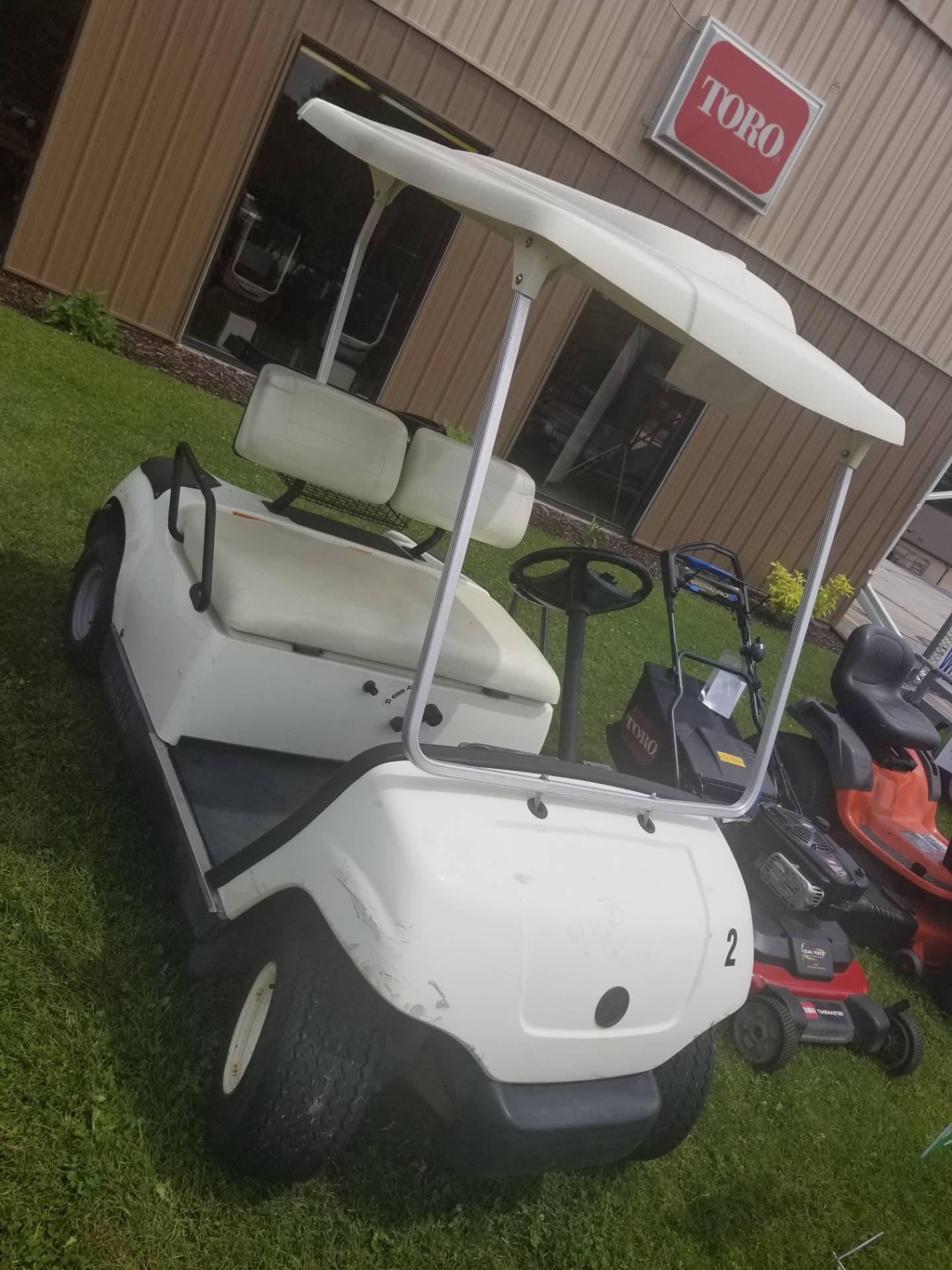 2005 Yamaha Gas Golf Cart in Francis Creek, Wisconsin - Photo 2
