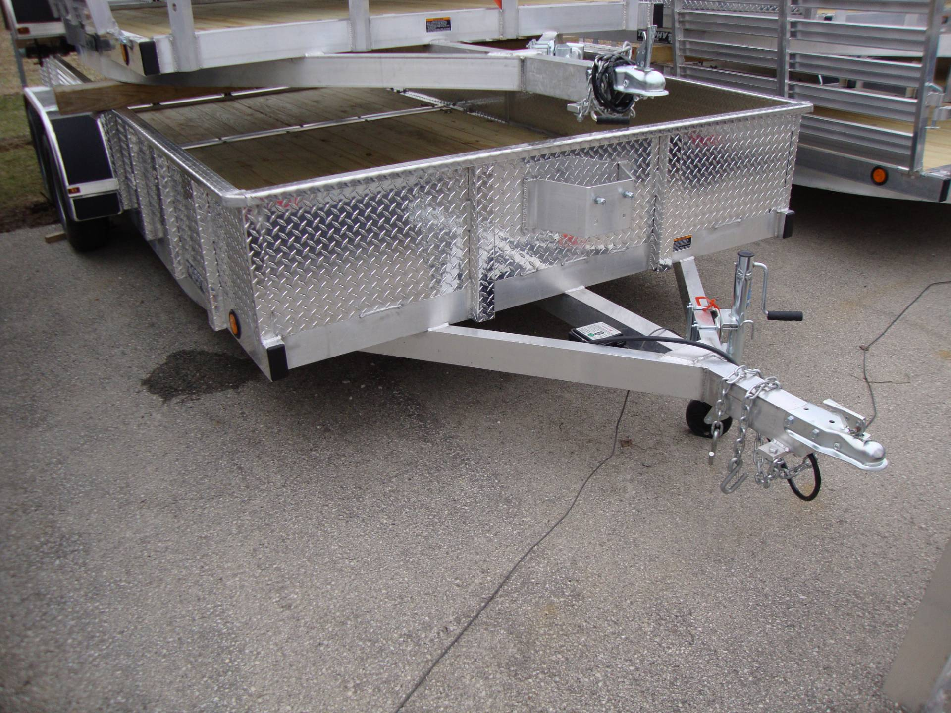 2017 Trophy Trailers AL 7X16 DP TI in Francis Creek, Wisconsin