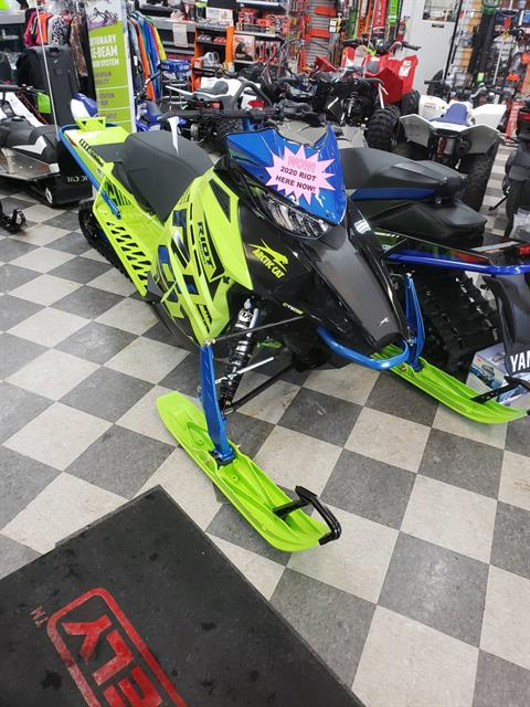 2020 Arctic Cat Riot 8000 1.35 ES in Francis Creek, Wisconsin - Photo 1