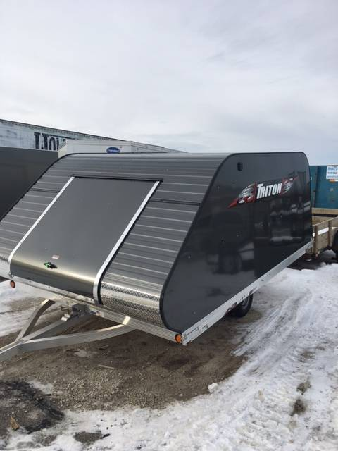 2017 Triton Trailers XT11-101 SQ in Francis Creek, Wisconsin