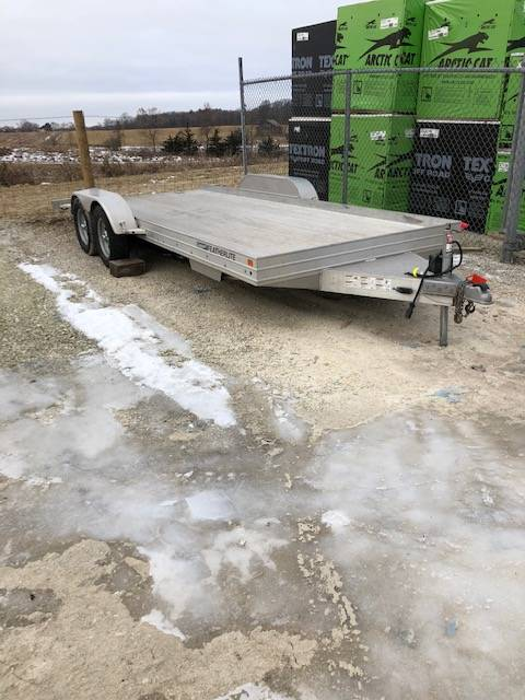 2015 Featherlite Trailers 3110-0017 8X17 ALUMINUM in Francis Creek, Wisconsin - Photo 1