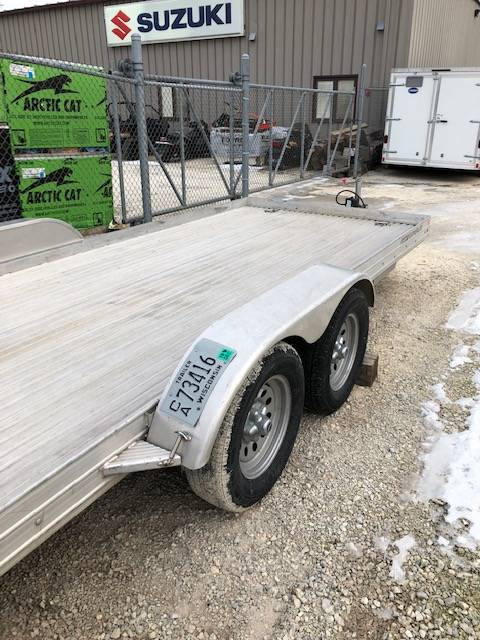 2015 Featherlite Trailers 3110-0017 8X17 ALUMINUM in Francis Creek, Wisconsin