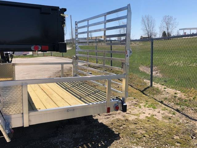 2020 Chilton 7 X 14 Aluminum W/ Ramps & Ramp Door in Francis Creek, Wisconsin - Photo 2