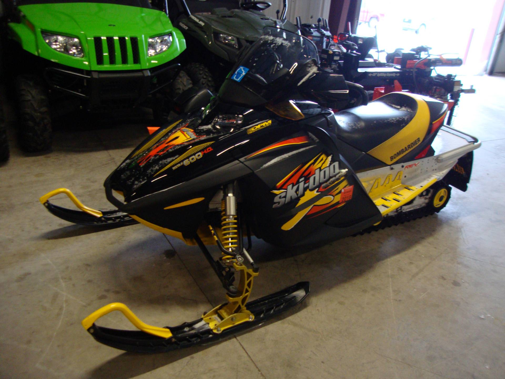 Used 2003 Ski-Doo MX Z Trail 600 Snowmobiles in Francis
