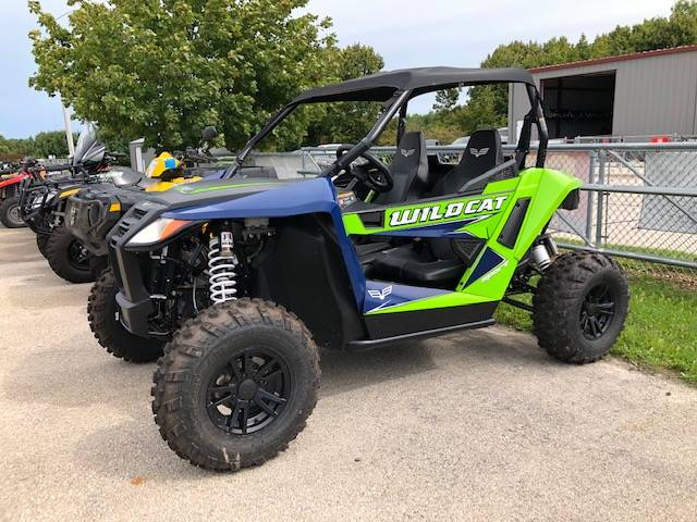2019 Arctic Cat Wildcat Sport XT in Francis Creek, Wisconsin - Photo 1