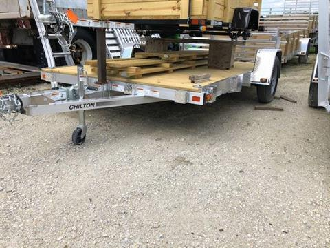 2020 Chilton 7 X 12 Aluminum Utility with Wood Sides in Francis Creek, Wisconsin - Photo 1