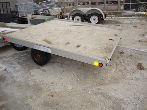2000 Newmans Trailers 6X8 ATV Trailer in Francis Creek, Wisconsin - Photo 1