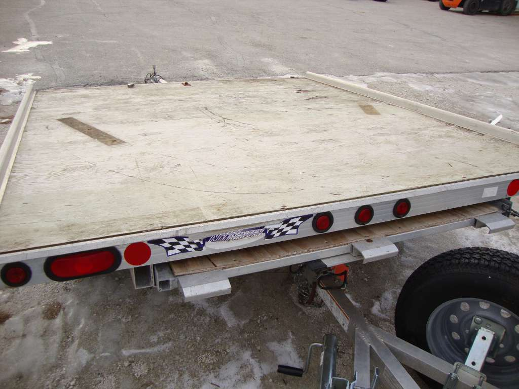 2000 Newmans Trailers 6X8 ATV Trailer in Francis Creek, Wisconsin