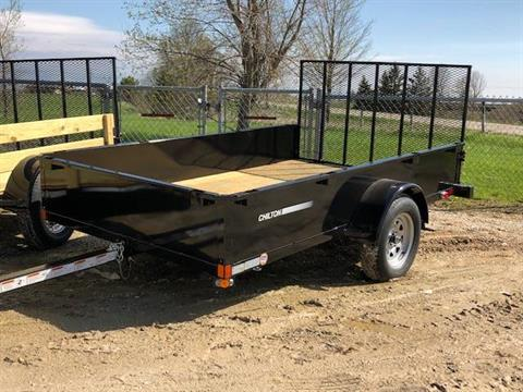 2019 Chilton 6x10 with ramp & metal sides in Francis Creek, Wisconsin