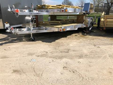 2019 Chilton 7x14 Aluminum w/ ramp, & leds in Francis Creek, Wisconsin