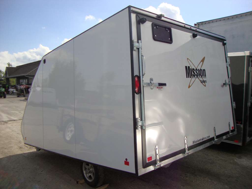 2017 ALCOM Mission Hybrid 101X12 Enclosed in Francis Creek, Wisconsin