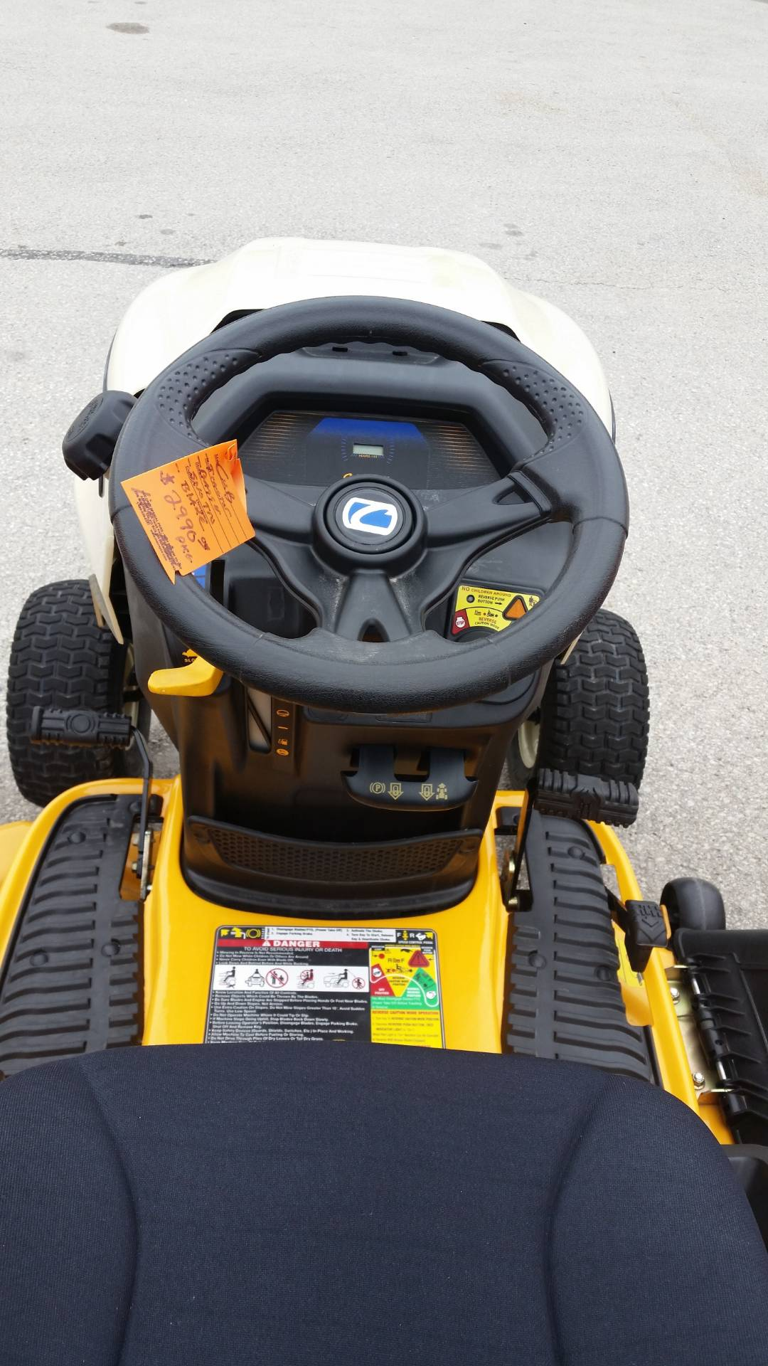 2015 Cub Cadet LTX 1045 in Francis Creek, Wisconsin - Photo 8