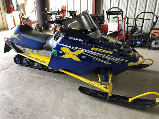 2002 Polaris Indy 800 XC SP in Francis Creek, Wisconsin