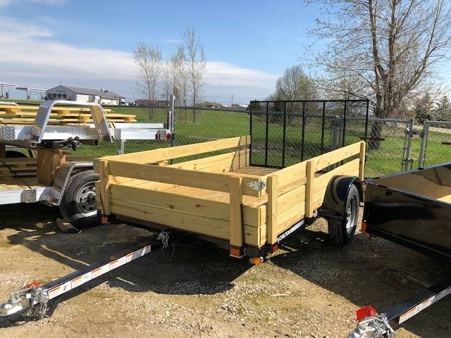 2019 Chilton 6x10 with ramp and wood sides in Francis Creek, Wisconsin